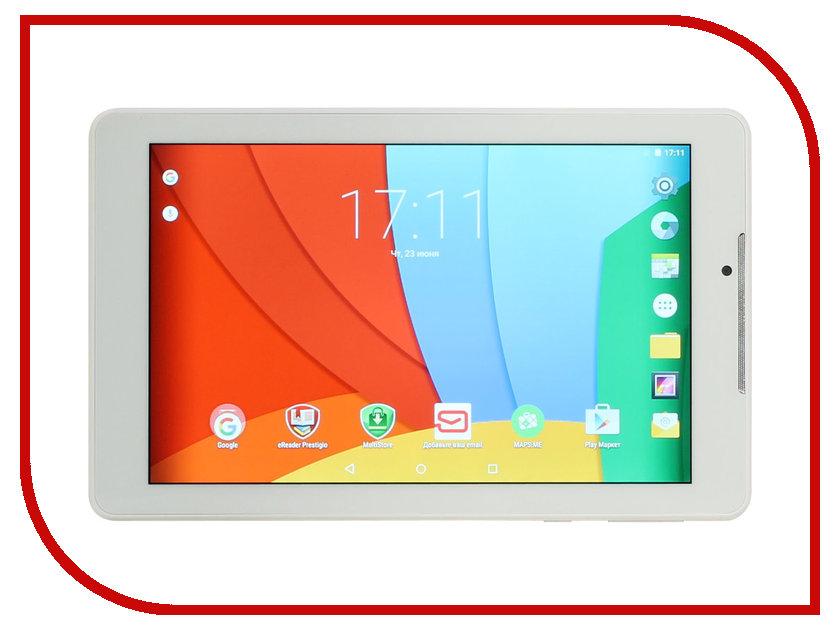 Планшет Prestigio MultiPad Wize 3797 3G White W1PMT37973GCWHCIS Intel Atom x3 C3230-RK 1.0 GHz/1536Mb/8Gb/3G/Wi-Fi/Bluetooth/Cam/7.0/1280x800/Android