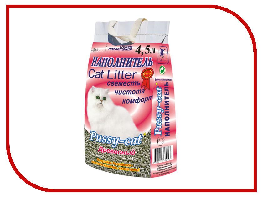 Наполнитель Pussy-Cat Древесный 4.5л 12084