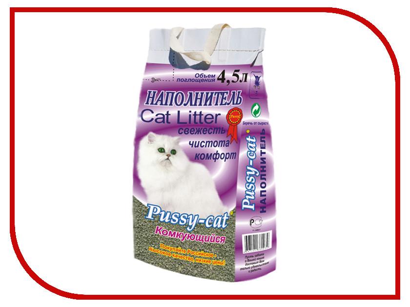 Наполнитель Pussy-Cat Комкующийся 4.5л