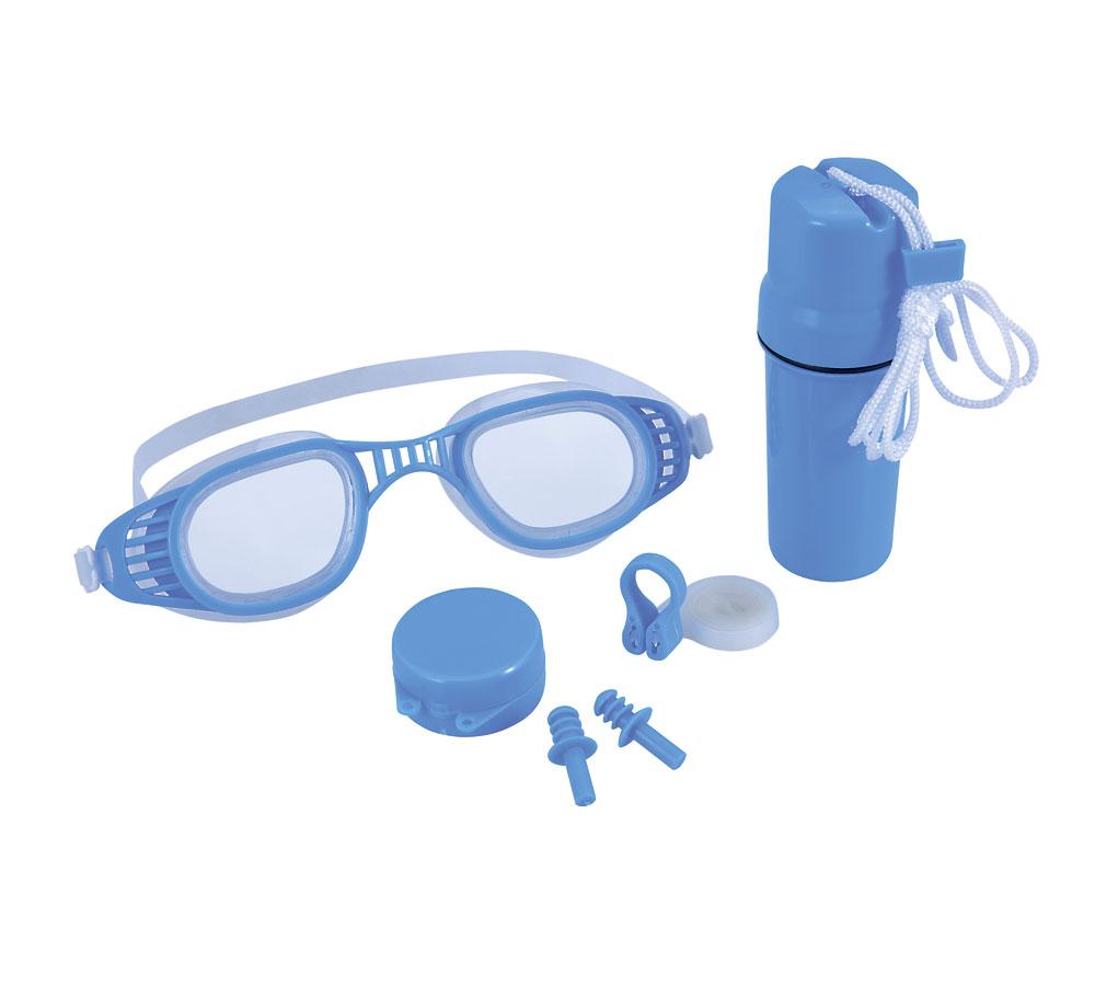 Набор очки + зажим для носа беруши BestWay 26002