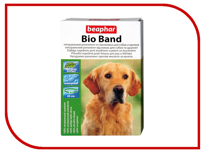 Ошейник Beaphar БИО+ 65см 10665 для собак