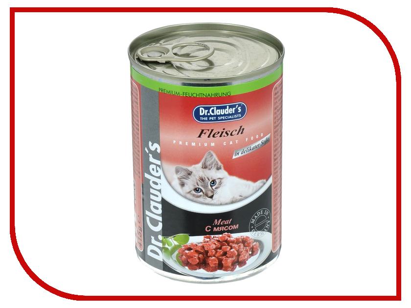 Корм Dr.Clauders Мясо 415g для кошек 211420