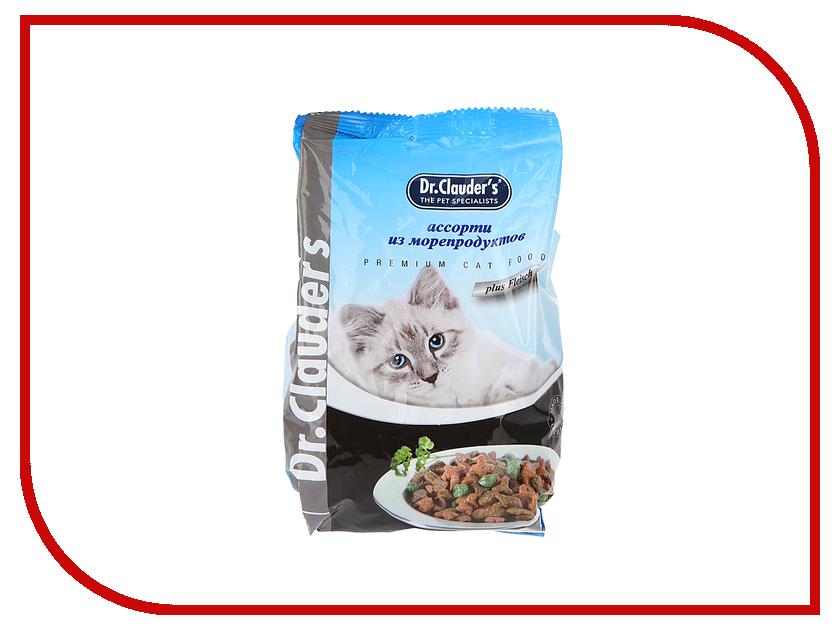 Корм Dr.Clauders Морепродукты 0.4kg для кошек 00100084