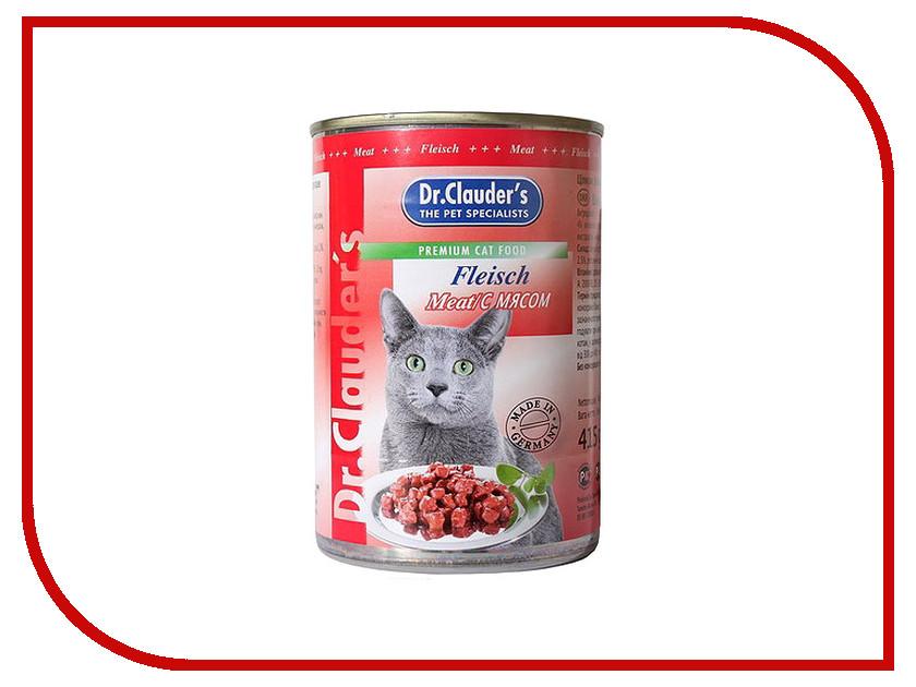 Корм Dr.Clauders Говядина 415g для кошек 204064