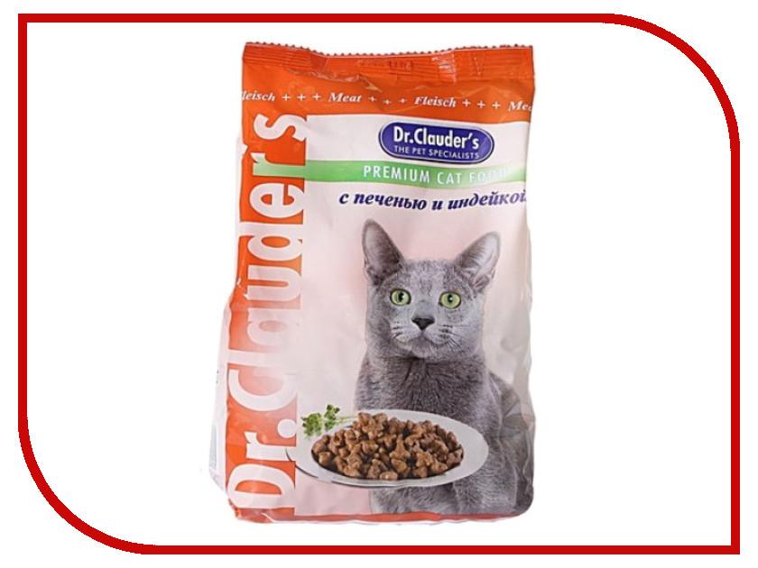 Корм Dr.Clauders Печень/Индейка 0.4kg для кошек 00100124