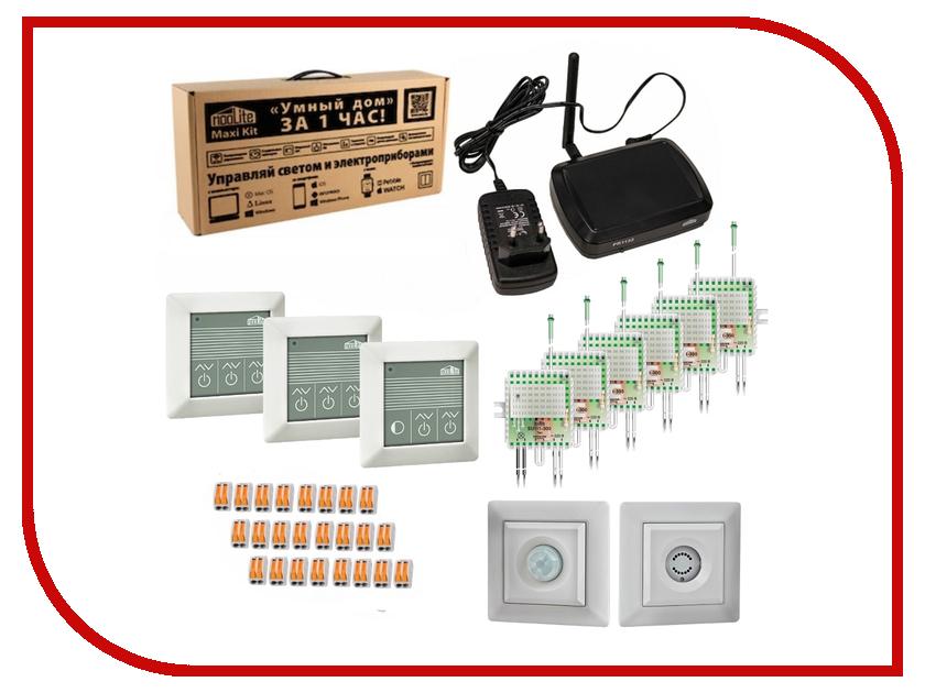 Контроллер NooLite Умный дом за 1 час Maxi Kit набор экосвет р 200 л noolite