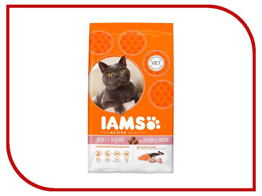 Корм Iams Лосось 300g для кошек 642605<br>