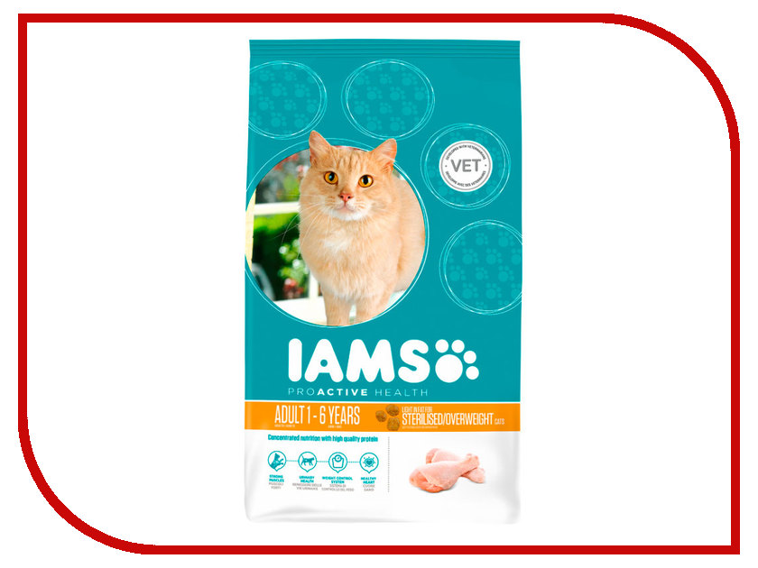 Корм Iams Курица 300g для кошек 81055162<br>