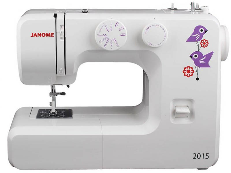 Швейная машинка Janome 2015 машинка швейная janome 2141