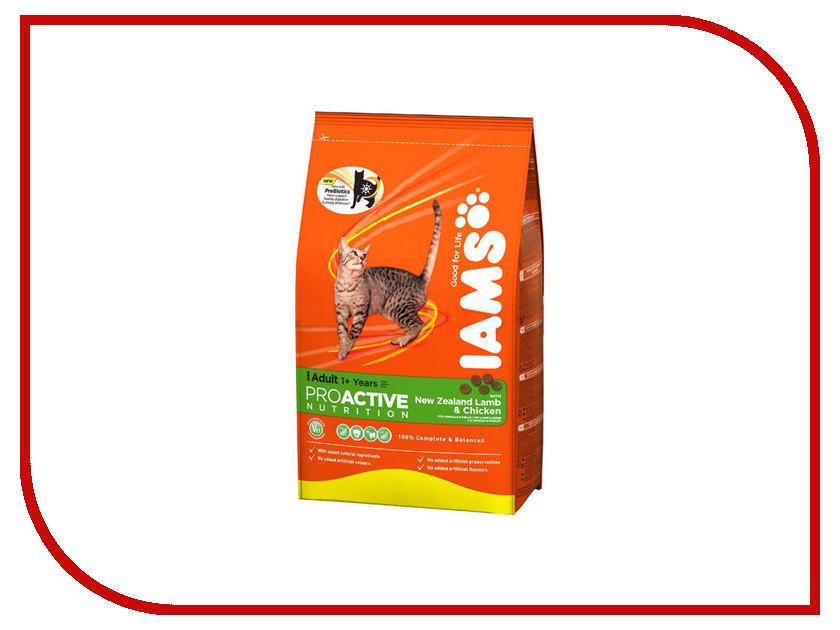 Корм Iams Ягнёнок 1.5kg для кошек 911121<br>