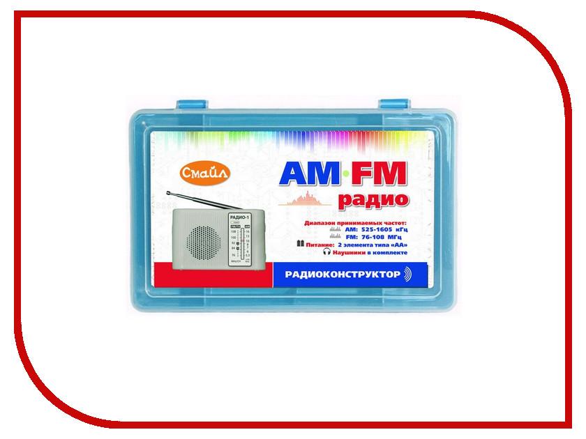 Конструктор Смайл Радиоприемник AM-FM-01 смайл образовательный конструктор мастер arduino старт