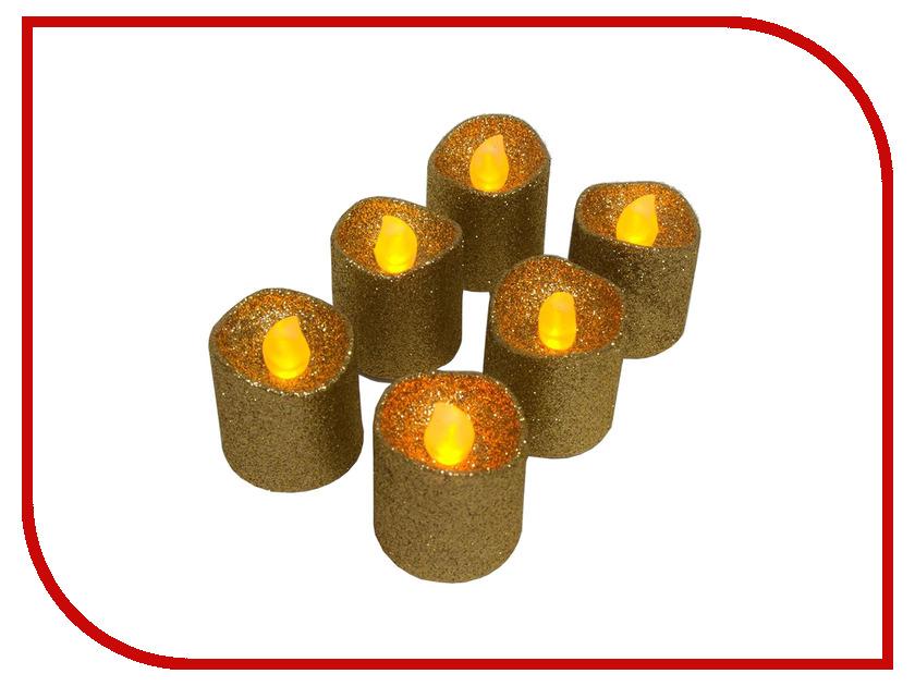 Светильник Feron Чайная свеча с блестками FL079