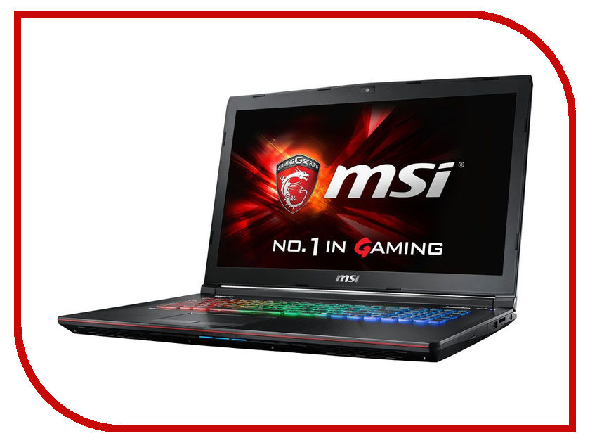 Ноутбук MSI GE72 6QE-400RU 9S7-179541-400 (Intel Core i7-6700HQ 2.6 GHz/16384Mb/1000Gb/DVD-RW/nVidia GeForce GTX 965M 2048Mb/Wi-Fi/Cam/17.3/1920x1080/Windows 10 64-bit) 349278<br>