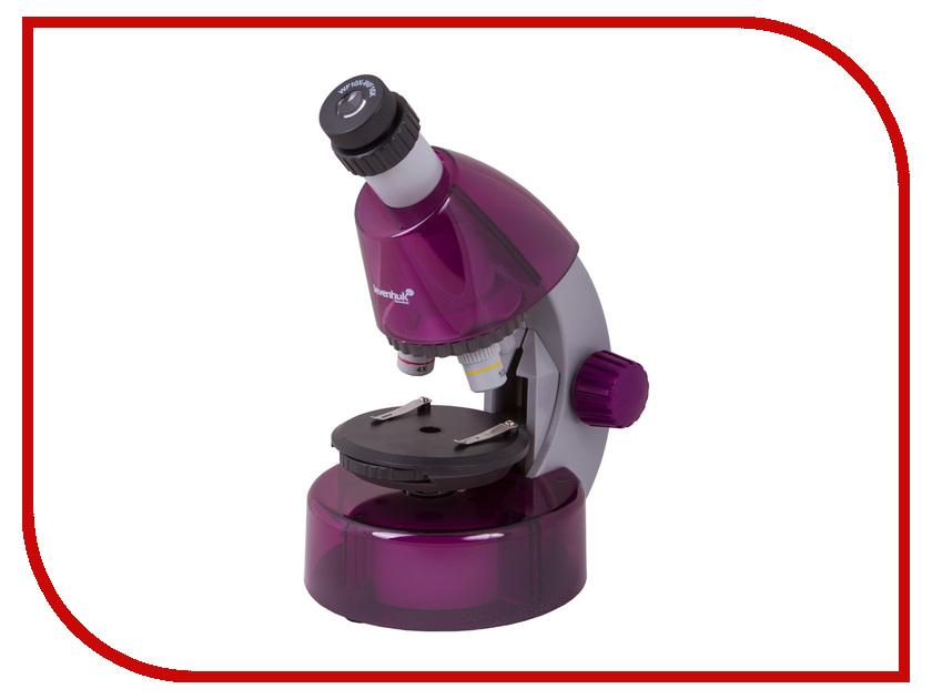 Микроскоп Levenhuk LabZZ M101 Amethyst 69033 микроскоп levenhuk левенгук labzz m101 orange апельсин