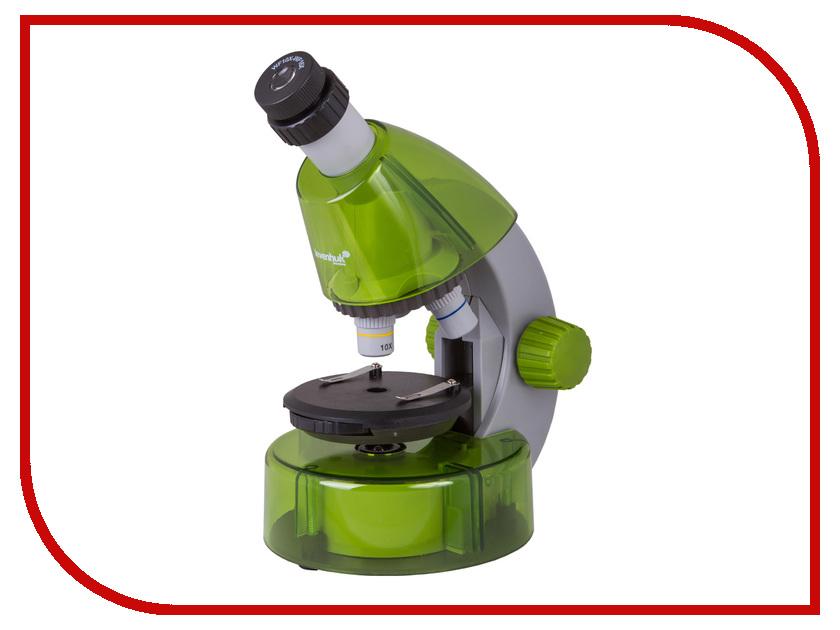 Микроскоп Levenhuk LabZZ M101 Lime 69034 микроскоп levenhuk левенгук labzz m101 orange апельсин