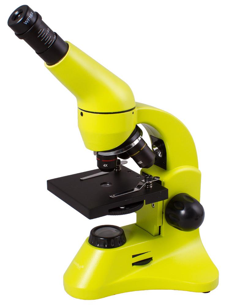 Микроскоп Levenhuk Rainbow 50L Plus Lime 69054