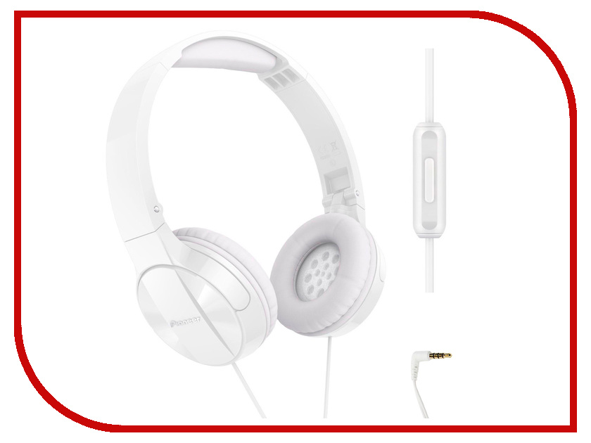 Гарнитура Pioneer SE-MJ503T White гарнитура pioneer se mj771bt black