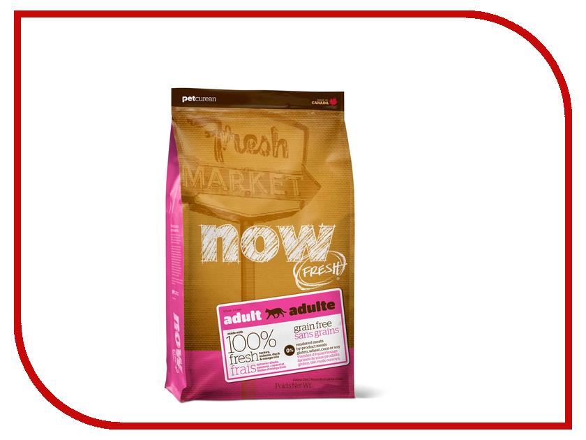 Корм Now Fresh беззерновой с Индейкой, уткой и овощами 1.82кг для кошек 03544 корм now fresh беззерновой с индейкой уткой и овощами 230г для котят 03735
