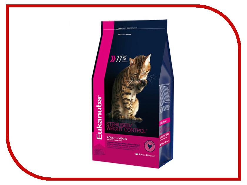 Корм Eukanuba 1.5kg для кошек 10144223<br>