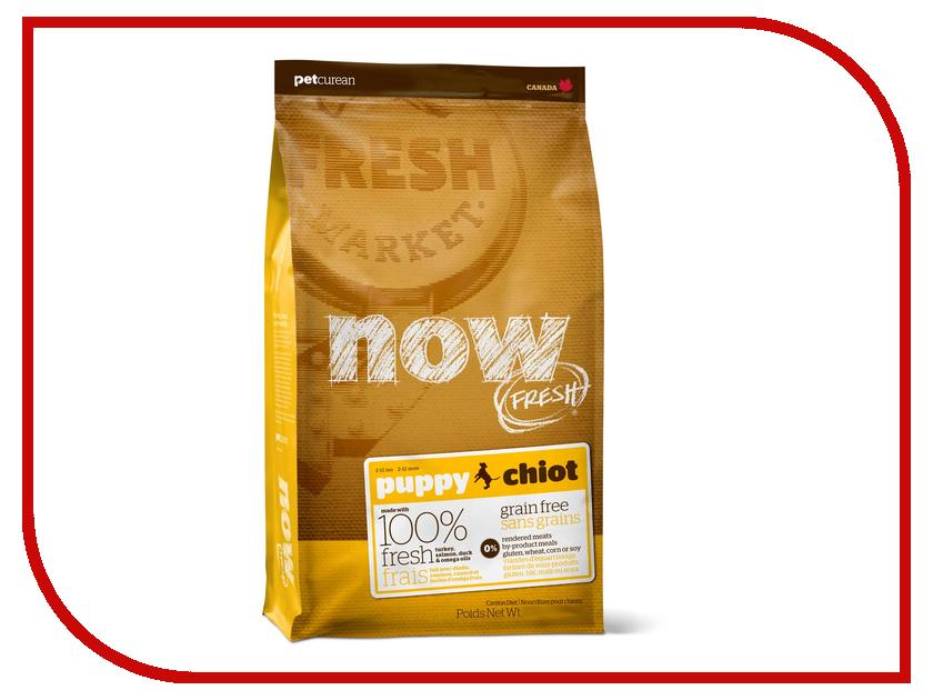 Корм Now Fresh беззерновой с Индейкой, уткой и овощами 5.45кг для щенков 03353<br>