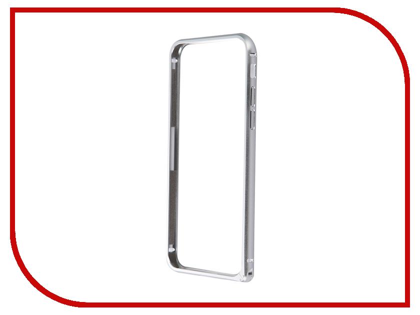 Аксессуар Чехол-бампер CaseGuru для APPLE iPhone 6 / 6S Silver<br>