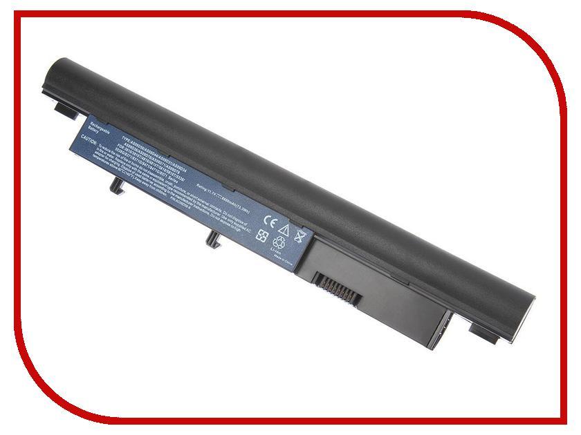 Аккумулятор 4parts LPB-3810H для Acer Aspire Timeline 3410T/3810T/4810T/5810T/5538G/3750G/TravelMate 8371/8471/8571 10.8V 6600mAh
