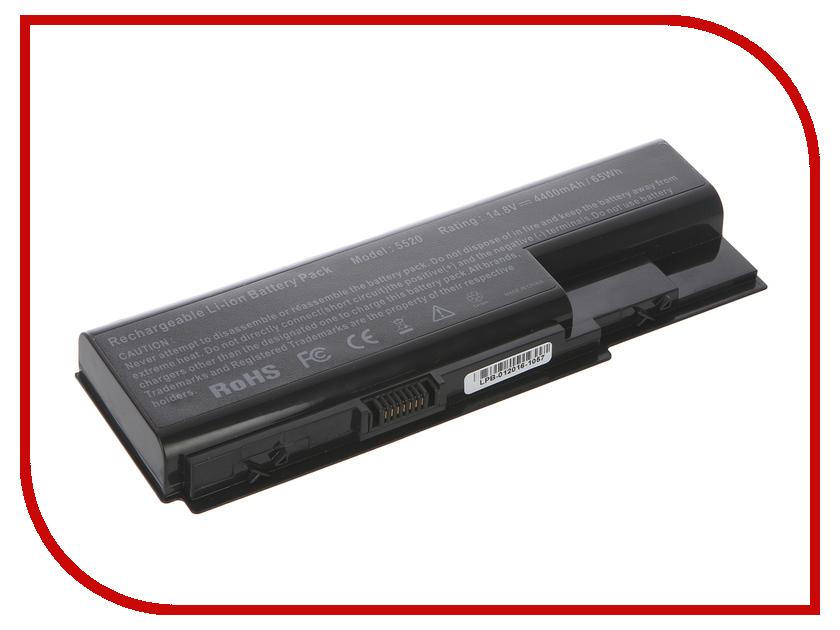 Аккумулятор 4parts LPB-5920H для Acer Aspire 5310/5315/5520/5720/5920/5930/6530/6930/8730/7520/7720/7730/7230/7620/7630 14.8V 4400mAh<br>