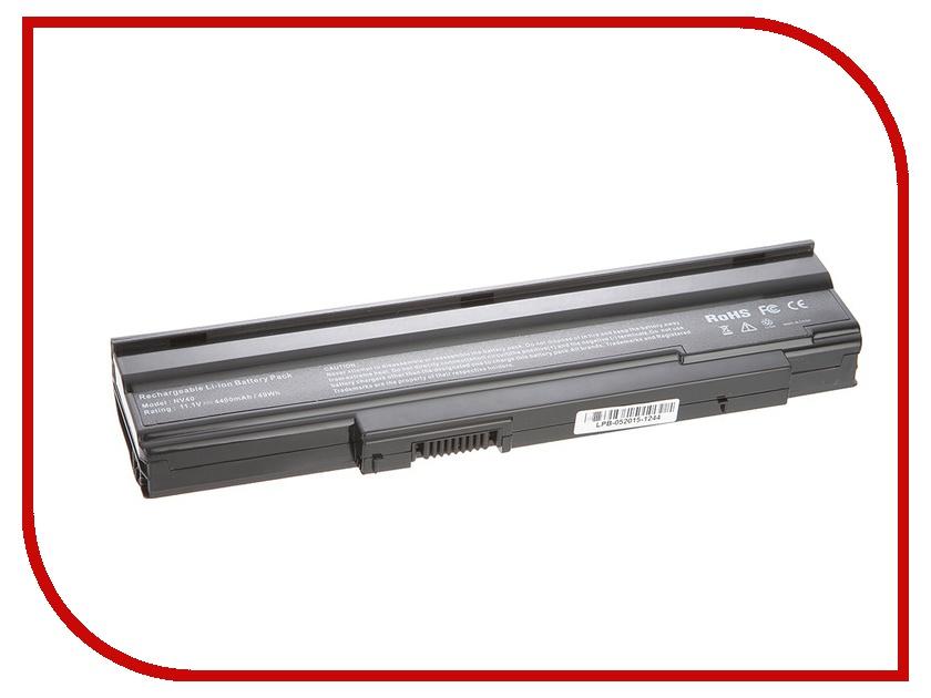 Аккумулятор 4parts LPB-5635ZG для Acer Extensa 5235/5635Z/5635ZG/LX.EE50X.050/eMachines E528 Series 11.1V 4400mAh аналог PN:AS09