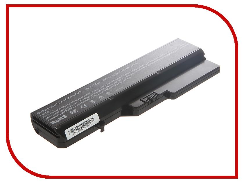 Аккумулятор 4parts LPB-G460 для IBM Lenovo G460/G470/G560/G570/G575/G770/Z370/Z460/Z465/Z560/Z570/Z575/B570/Z580 10.8V 4400mAh