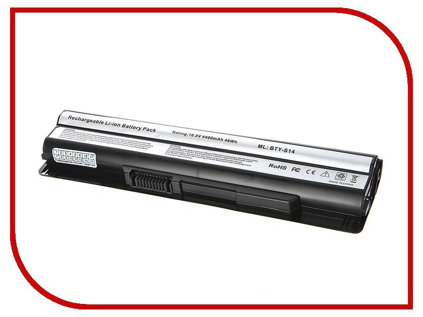 Аккумулятор 4parts LPB-CR650 для MSI CR41/CR650/CX61/CX650/CX70/FR400/FR600/FR700/FX400/FX600/FX700/GE60/GE70 10.8V 4400m<br>