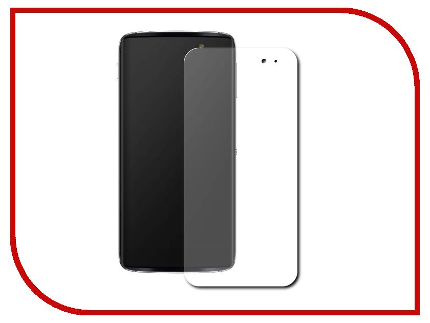 Аксессуар Защитная пленка Alcatel Idol 4S 6070K LuxCase Front&Back прозрачная На весь экран 88552