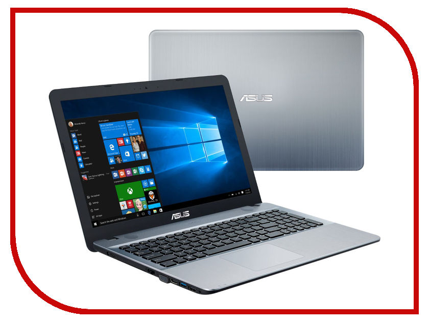 Ноутбук ASUS X541SA-XX059T 90NB0CH3-M03610 (Intel Pentium N3710 1.6 GHz/4096Mb/500Gb/DVD-RW/Intel HD Graphics/Wi-Fi/Bluetooth/Cam/15.6/1366x768/Windows 10 64-bit)<br>