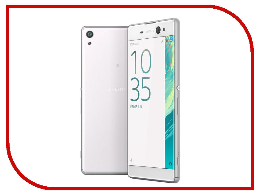 Сотовый телефон Sony F3212 Xperia XA Ultra Dual White<br>
