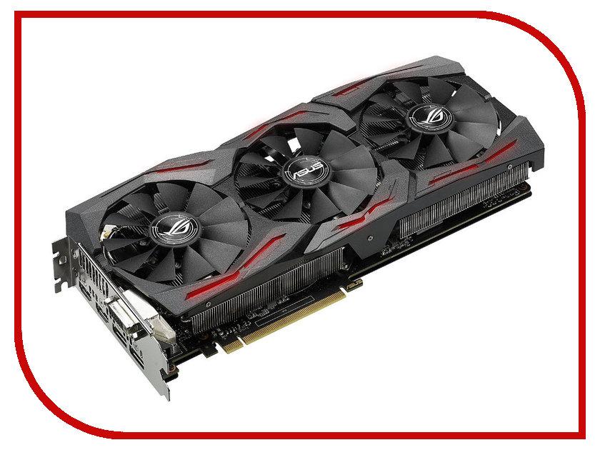Видеокарта ASUS GeForce GTX 1080 1607Mhz PCI-E 3.0 8192Mb 10000Mhz 256 bit DVI 2xHDMI HDCP STRIX-GTX1080-8G-GAMING<br>