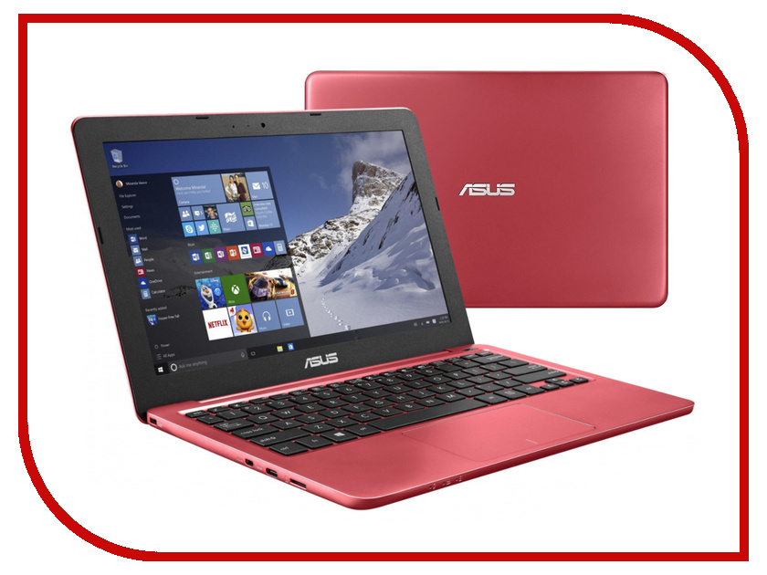 Ноутбук ASUS E202SA-FD0037T 90NL0054-M00730 Intel Pentium N3700 1.6 GHz/2048Mb/500Gb/No ODD/Intel HD Graphics/Wi-Fi/Bluetooth/Cam/11.6/1366x768/Windows 10<br>