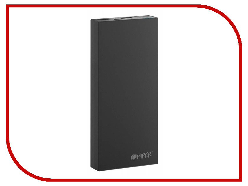 Аккумулятор HIPER Power Bank RP15000 15000mAh Black