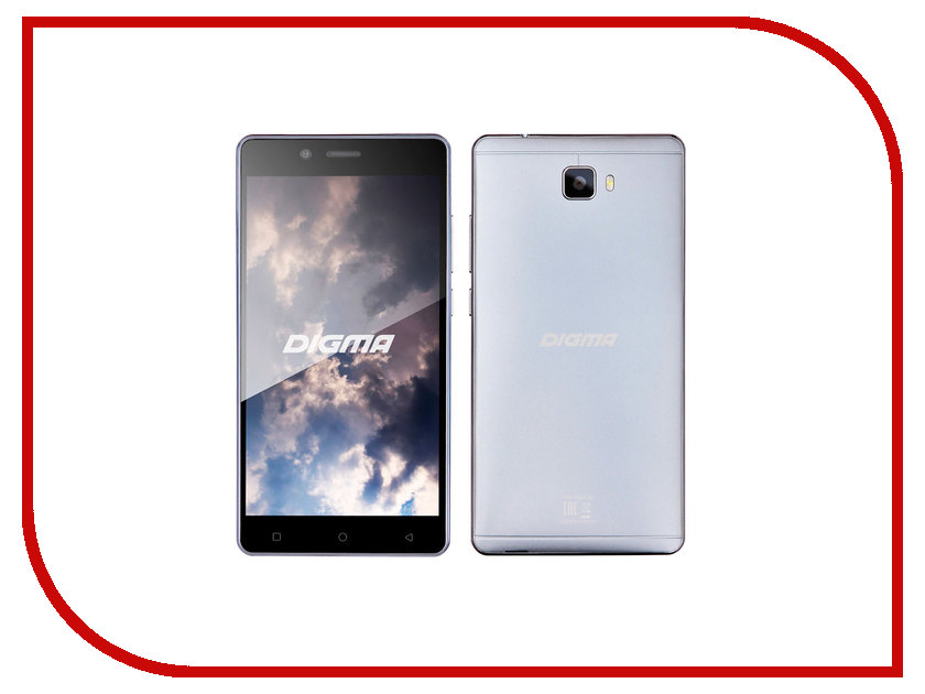 Сотовый телефон Digma Vox S502 3G Grey сотовый телефон digma vox s502 3g grey