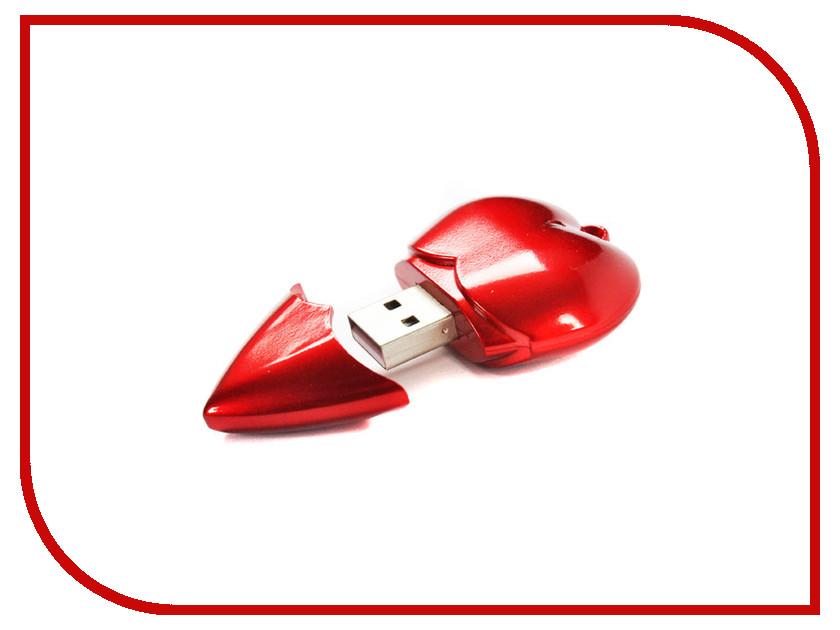 USB Flash Drive 4Gb - Союзмультфлэш Сердечко FM4ED4.10.R usb flash drive 16gb союзмультфлэш шерман fm16wr3 43