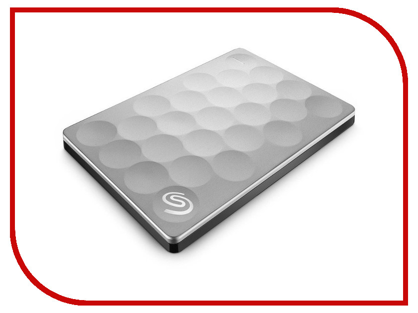 Жесткий диск Seagate Backup Plus Ultra Slim 2Tb Platinum STEH2000200<br>