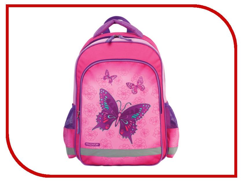 Рюкзак Пифагор Бабочки Pink 225298