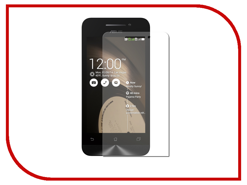 Аксессуар Защитное стекло ASUS ZenFone 4 (4.0) A400CG Cojess Glass PRO+ 0.33mm<br>