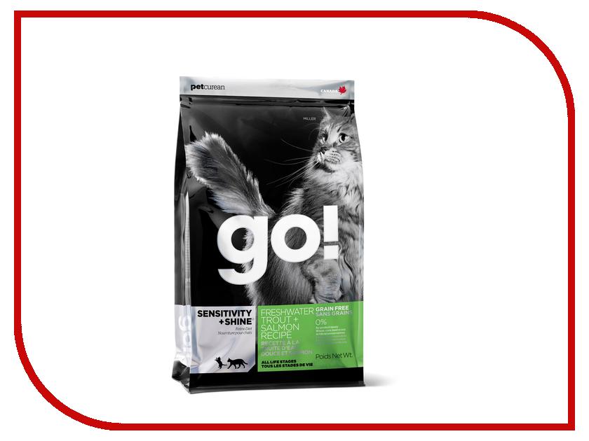 Корм GO! Форель/Лосось 1.82kg для котят и кошек 00833<br>