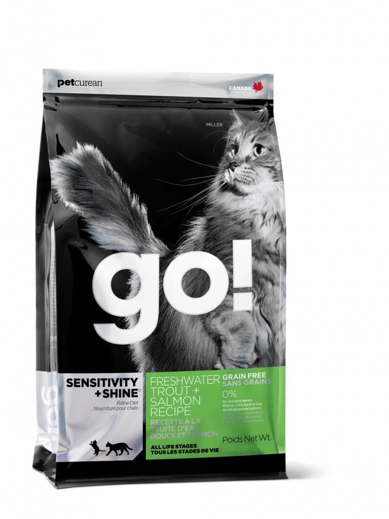 Корм GO! Форель/Лосось 3.63kg для котят и кошек 00840