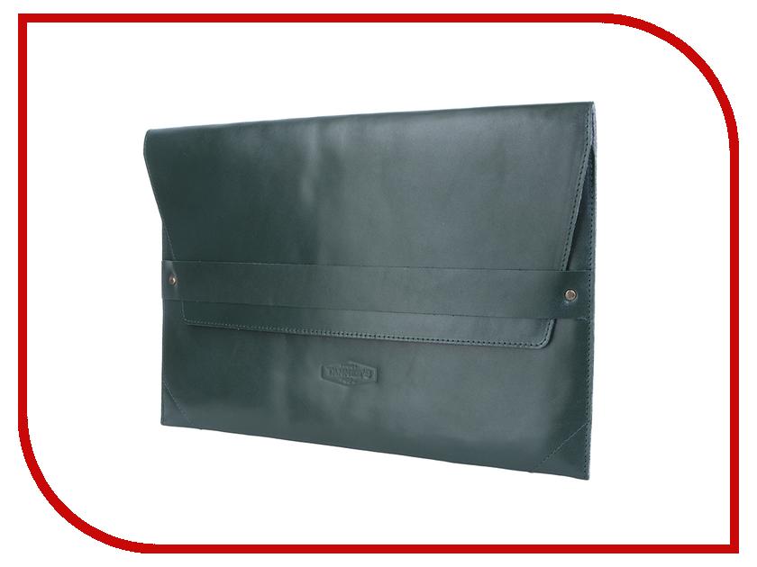 Аксессуар Чехол 13.0-inch Tanners Tesla для APPLE MacBook Air / Pro Retina Green TLN-M13GN