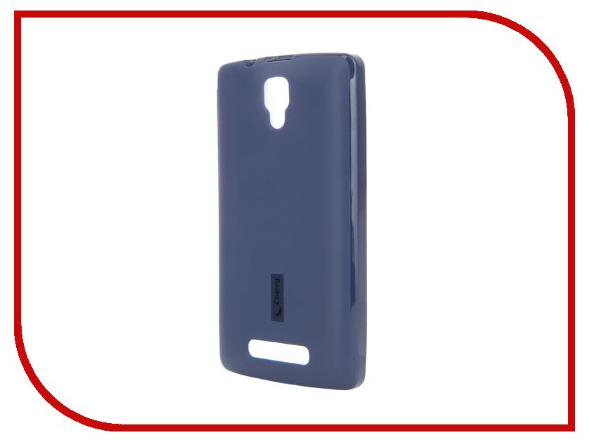 Аксессуар Чехол Lenovo A1000 Cherry Dark Blue 9096