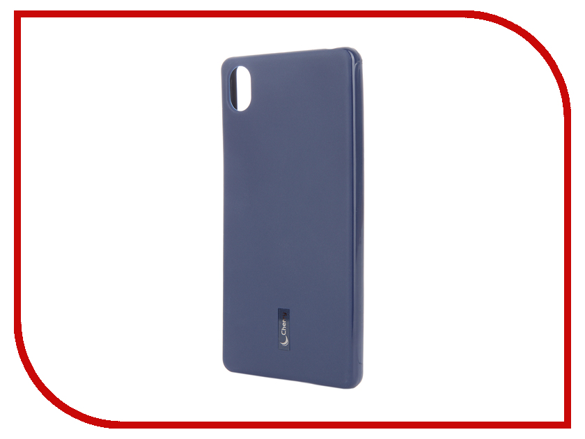 Аксессуар Чехол Sony Xperia X Cherry Dark Blue 9174<br>