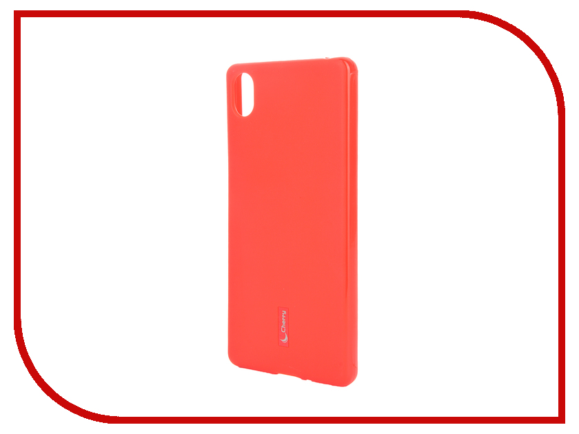 Аксессуар Чехол Sony Xperia X Cherry Red 9173<br>