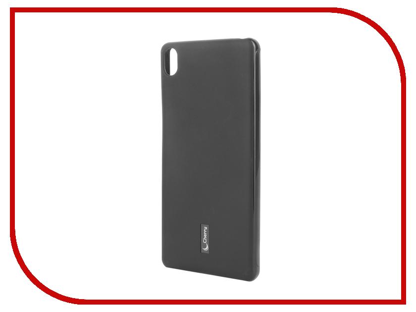 Аксессуар Чехол Sony Xperia XA Cherry Black 9178<br>