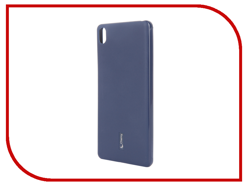 Аксессуар Чехол Sony Xperia XA Cherry Dark Blue 9177<br>