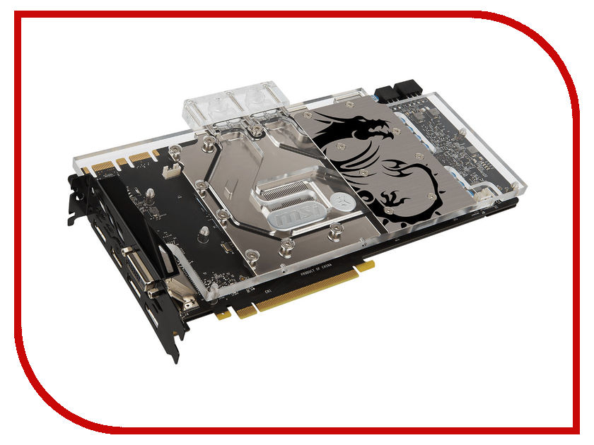 Видеокарта MSI GeForce GTX 1070 1506Mhz PCI-E 3.0 8192Mb 8108Mhz 256 bit DVI HDMI HDCP GTX 1070 SEA HAWK EK X